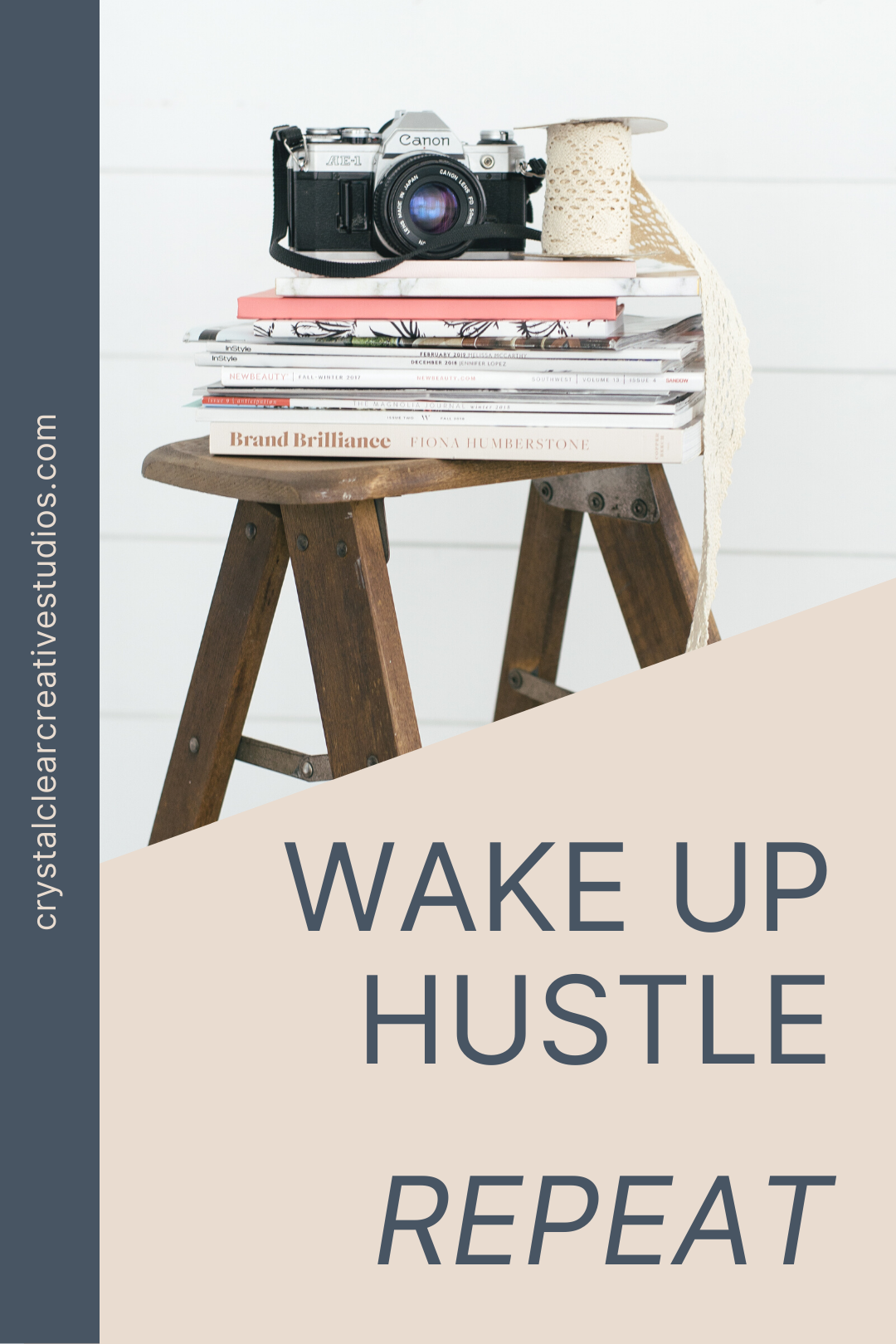 Wake up, hustle, repeat.