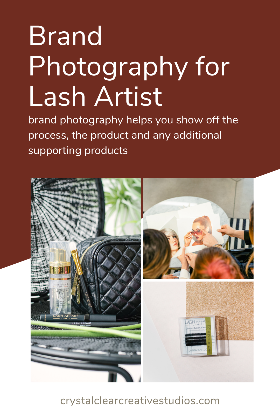 Brand Photography for Lash Artists
