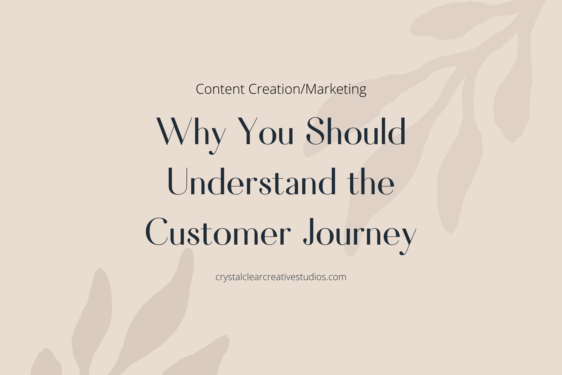 Why You Should Understand the Customer Journey