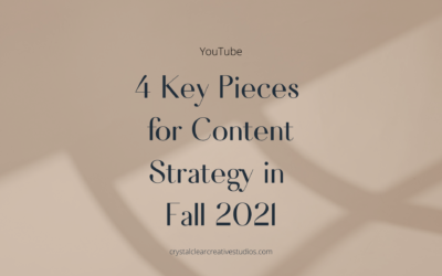 4 Key Pieces to Content Strategy