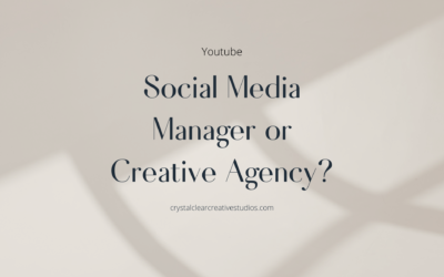 Social Media Manager VS. Creative Agency – What Do You Need?